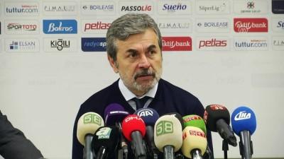 Demir Grup Sivasspor-Fenerbahçe maçının ardından (1) - SİVAS