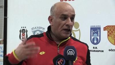 Hentbol- Göztepe, Büyükşehir Belediyesi Ankaraspor'u 37-36 yenerek finale yükseldi - BOLU