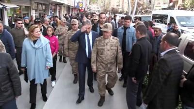 Jandarma Genel Komutanı Çetin, Hakkari'de