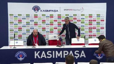 bir ayrilik - Kasımpaşa - Kardemir Karabükspor maçının ardından - İSTANBUL