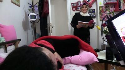SMA hastası engelli kızın 'memuriyet azmi' - İZMİR