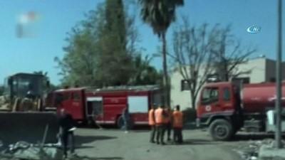 - Vurulan bilimsel araştırma merkezindeki hasar görüntülendi