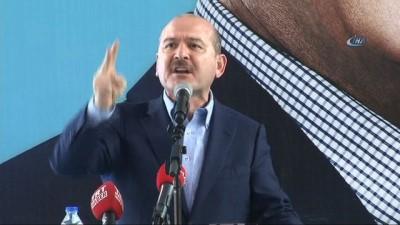 Bakan Soylu: 'Bu millet insanlığını döviz kuruna satmaz'