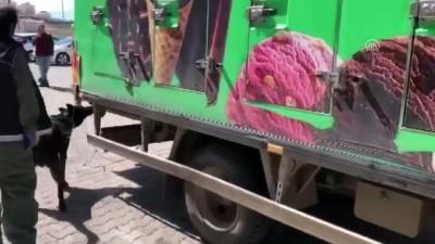 Dondurma kamyonunda 80 kilogram eroin ele geçirildi - VAN