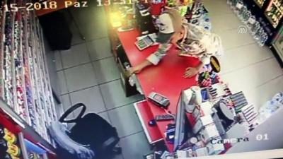 Hırsızlık anı güvenlik kamerasında - MUĞLA