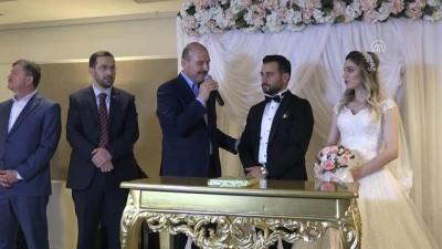 İçişleri Bakanı Soylu, nikah şahitliği yaptı - TRABZON