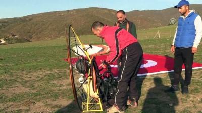 Paramotorla Türkiye'yi havadan görüntüleyecekler - AMASYA