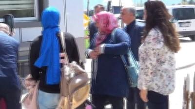 Polis şehit ve gazi ailelerinden Afyonkarahisar ziyareti