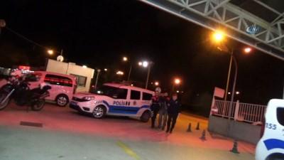 Polis ve jandarmayı alarma geçiren cinayet zanlıları firar edip, araç gasp etti