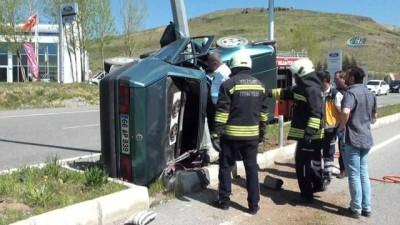 Yozgat'ta trafik kazası 2 ölü, 1 yaralı