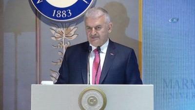 """Başbakan Binali Yıldırım, """"Referandumdan Bir Yıl Sonra Cumhurbaşkanlığı Hükümet Sistemi"""" panelinde konuştu"""
