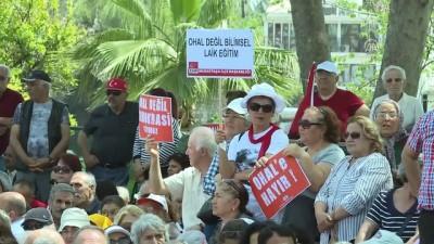CHP'nin oturma eylemi - ANTALYA/AFYONKARAHİSAR