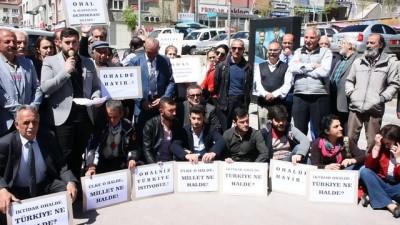 CHP'nin oturma eylemi - GÜMÜŞHANE