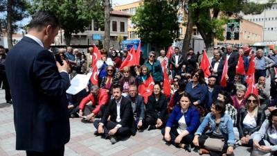CHP'nin oturma eylemi - NİĞDE