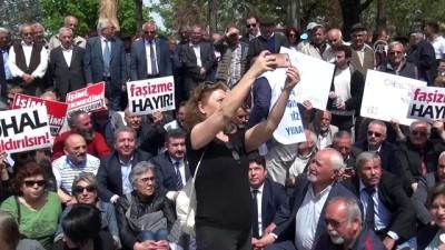 CHP'nin oturma eylemi -Öztürk Yılmaz - ÇORUM