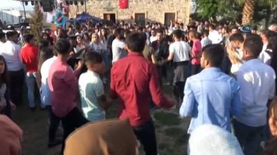 Cizre'deki Nergis Festivali sona erdi