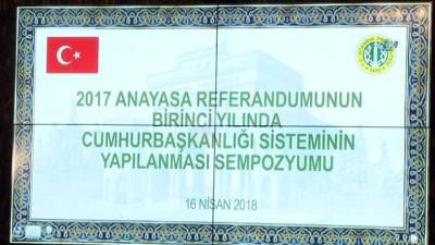 hukumet -  Cumhurbaşkanlığı Başdanışmanı Uçum: '50 1'i almak demek Türkiye toplumunun tamamından destek almak demektir'
