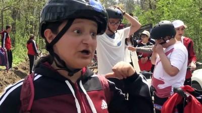 Engelli öğrenciler pedal çevirdi - KIRKLARELİ