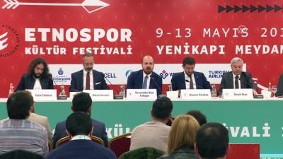 Etnospor Kültür Festivali'ne doğru - BİST Yönetim Kurulu Başkanı Karadağ - İSTANBUL