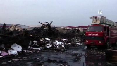 Fabrika yangını 24 saat sonra tamamen söndürüldü - SAKARYA