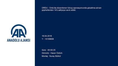 Fuhuş operasyonu - ORDU