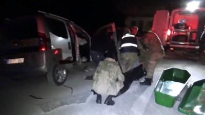 Gaziantep'te tır ile hafif ticari araç çarpıştı. 1 ölü