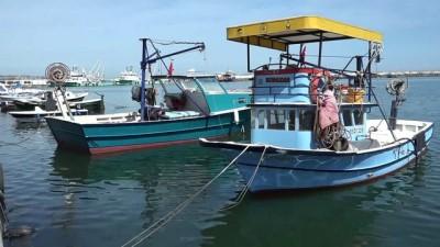 Karadeniz'de balık ağları toplandı - SAMSUN