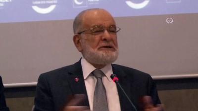 Saadet Partisi Genel Başkanı Temel Karamollaoğlu - EDİRNE