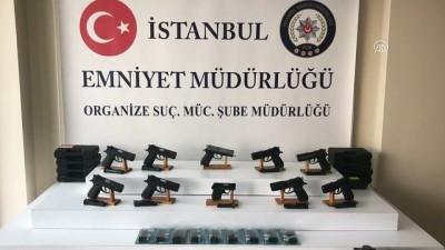Silah kaçakçılığına yönelik operasyon - İSTANBUL