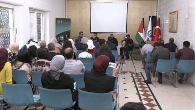 Türk sanatçılar işgal altındaki Batı Şeria'da tasavvuf müziği konseri verdi - RAMALLAH