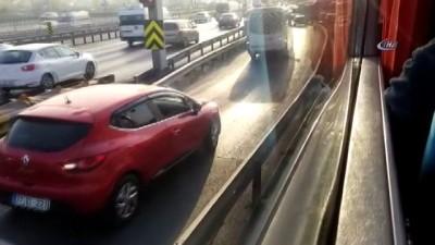 cep telefonu -  Uyanık sürücüler trafiği böyle birbirine kattı