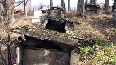 Ahşap mezarların sırrı çözülemedi - TOKAT