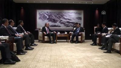 Bakan Kurtulmuş, Çinli mevkidaşı Luo ile görüştü - PEKİN