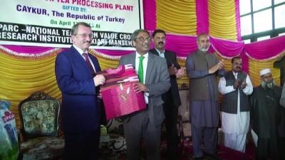 Çaykur Pakistan'da çay fabrikası açtı - İSLAMABAD