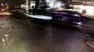 Emniyet müdür yardımcısı kazada hayatını kaybetti - Kaza anı - TRABZON