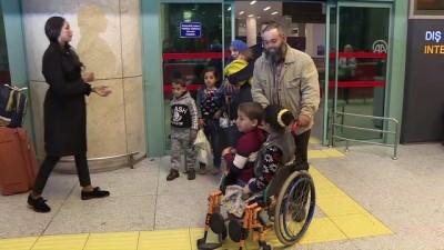 a haber - Gazzeli engelli kardeşler Türkiye'de - ANKARA