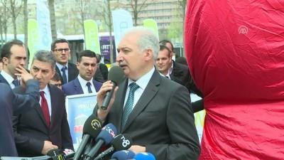 İETT'nin geliştirdiği sürücüsüz elektrikli aracın tanıtımı yapıldı - İSTANBUL