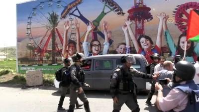 İsrail askerleri 'Filistin Esirler Günü' gösterilerine müdahale etti - RAMALLAH