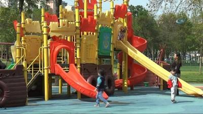 Kağıthane parkları kameralarla daha güvenli