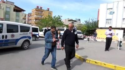 Polis nezaretindeki zanlı hastane önünde vuruldu