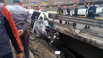 saglik ekibi -  TEM'de büyük kaza, olay yerine çok sayıda itfaiye ve sağlık ekibi sevk edildi