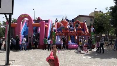 Türk ve Suriyeli çocuklar şenlikte buluştu - KİLİS