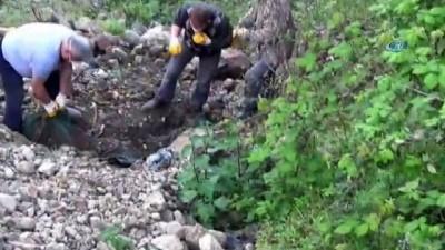 7 aydır kayıp olan şahsın parçalanarak gömülmüş cesedi bulundu