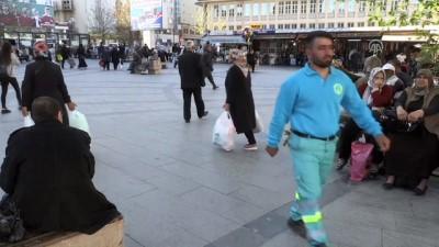 Atıkları artık belediye için topluyor - GAZİANTEP