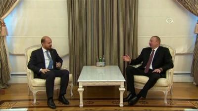Gençlik ve Spor Bakanı Bak ile Bilal Erdoğan Aliyev'le görüştü - BAKÜ
