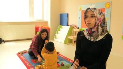 Hayatını otizmli oğluna adadı - GAZİANTEP