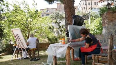Kazdağları'nda 'Uluslararası Sanat Çalıştayı' - BALIKESİR