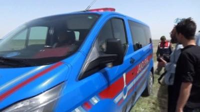 Konya'da yapılan tatbikatta patlayan mühimmatın parçası Karaman'a düştü