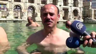 2 bin yıllık antik havuzda yüzme keyfi - YOZGAT