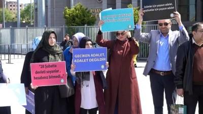 yurt disi - 28 Şubat davası sanıklarının tutuklanmamasına itiraz - İSTANBUL